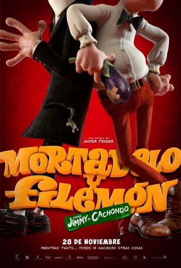 Мортадело и Филимон против Джимми Торчка / Mortadelo y Filemn contra Jimmy el Cachondo (2014)